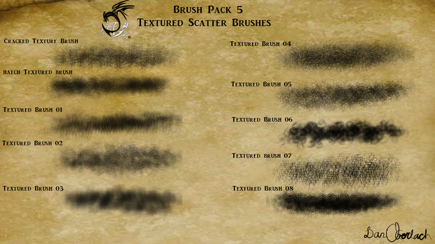 Brush pack 5 (April) (11/20 sold) by DragonLoreStudios