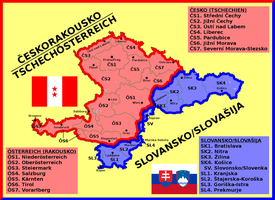 Map of Czechaustria and Slovania by matritum