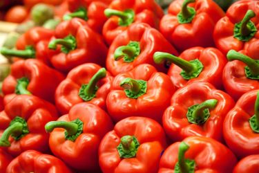 Red Bell Peppers by richardxthripp