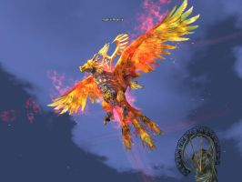 Lineage 2 - Imperial Phoenix by Brownfinger