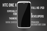 HTC One X [psd] by danishprakash