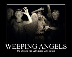 Weeping Angels by MooneyMcMooneykins