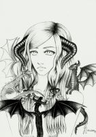 Mother of dragons by Lamitsu