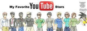 My Favorite Youtube stars by WaRrior9100