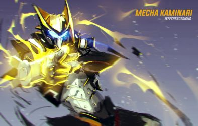 Mecha Kaminari by jeffchendesigns