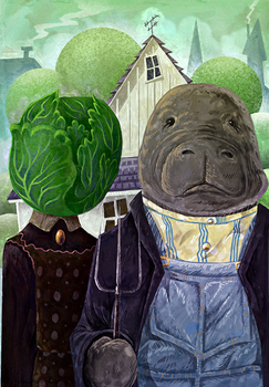 Manatee Gothic by Pseudogiant