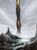 vision of the Dark Tower by Nis-Staack