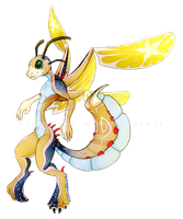 Morning Star Drackonfly [OPEN] by kr1st1naa