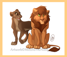 Hey,Lion! by MittensTheNoble