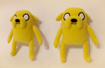 [Adventure Time] Jake the Dog plush by NekoRushi