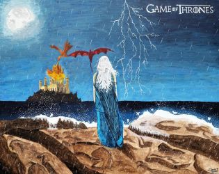 Game of Thrones - Dragon Storm by ghero97