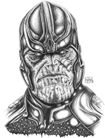 Thanos by Xpendable