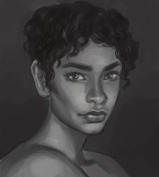 practice portrait by TanyaGreece