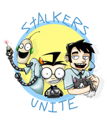 Stalkers Unite by caboosemcgrief