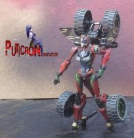 transformers : custom gobots smallfoot by puticron