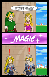 Dubious Disguises [comic + video] by Lethalityrush