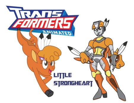Transformares Little Strongheart by Inspectornills
