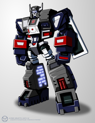 TF:Ignition-esque Fortress Maximus by KrisSmithDW