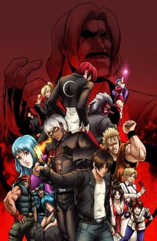KOF Poster by RJM-Studio