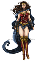 Dawn of Justice: Wonder Woman by EmeraldSora