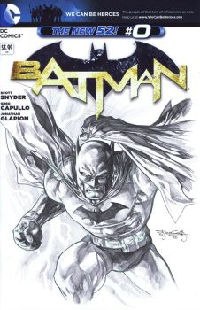 Batman sketch cover by sjsegovia