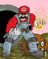 Super Mario BRO by sedani
