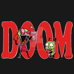 Doom! Invader Zim Design Contest by Bat13SJx