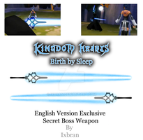 KH:BbS US and PAL Secret Boss by Ixbran