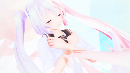 [MMD] Cotton candy skies. by TimePlayerMasquerade