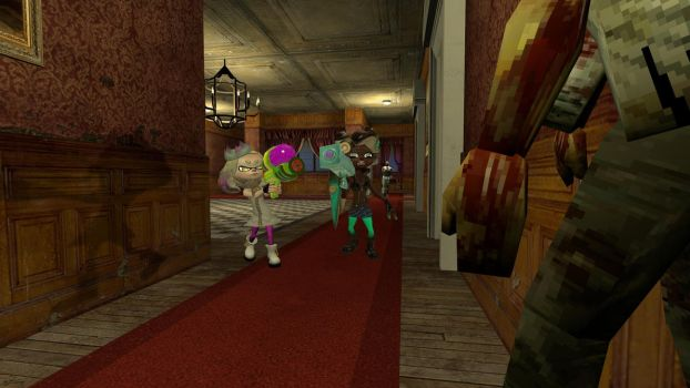 Off the Hook in Resident Evil by VenomKnight827