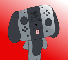 Switch Dog by pikachuandpichu106