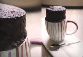 A Cup of Cake in 5 Minutes by Nora-Sims