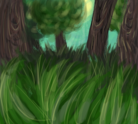 Forest - Day 1 by ThatCreativeCat