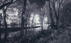 Grand River off Kent Trails (IR) by KBeezie