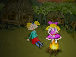 Hey Arnold Jungle Movie fanart by ABCreatief