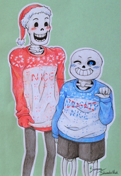 Youre gonna have a christmas time by HellKitten2204