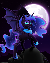 Queen of the Eternal Night by MidnightSix3