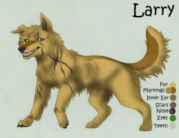 Larry REF Sheet by KasaraWolf