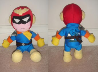 Captain Falcon Plushie by Eyes5
