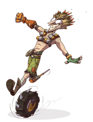 Junkrat by PiemationsArt