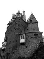 Castle on the Mosel by Antiauk
