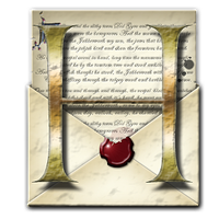Steampunk Open Envelope Help Icon by yereverluvinuncleber