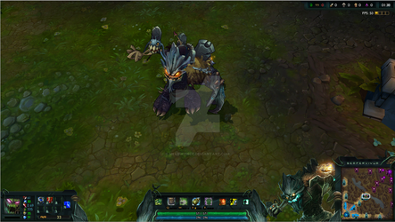 Haunted Maokai League of Legends Overlay by Melificence