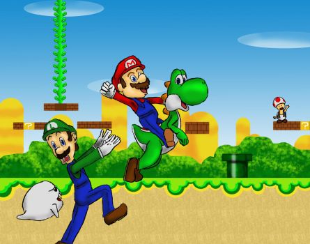 Mario and Luigi by goodygoody425