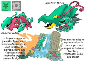 Pokemon Variante-(034) Clauncher-Clawitzer
