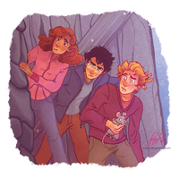 Harry, Ron and Hermione 1/6 by Danger-Jazz