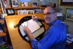 Me at my animation desk by tombancroft