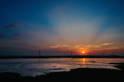 Isle of Sheppey sunset by Mentos18