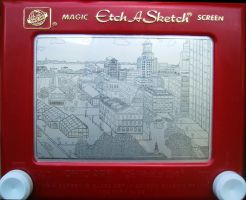 Boston Etch v2 by bryanetch