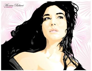 Monica Belucci by remainer